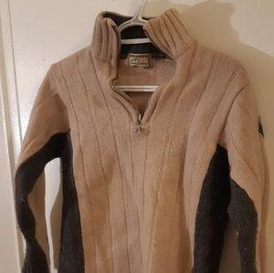 Thomas burberry wool sweater